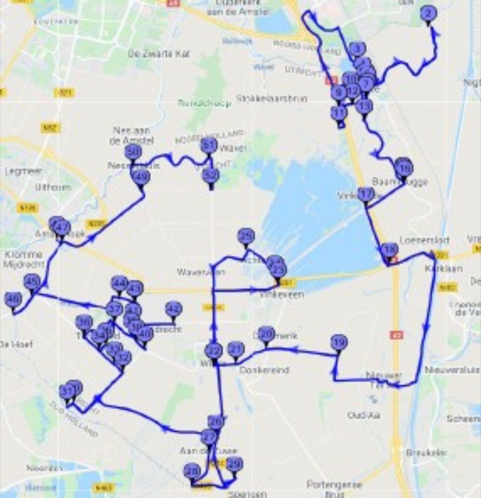 Route Schouwen