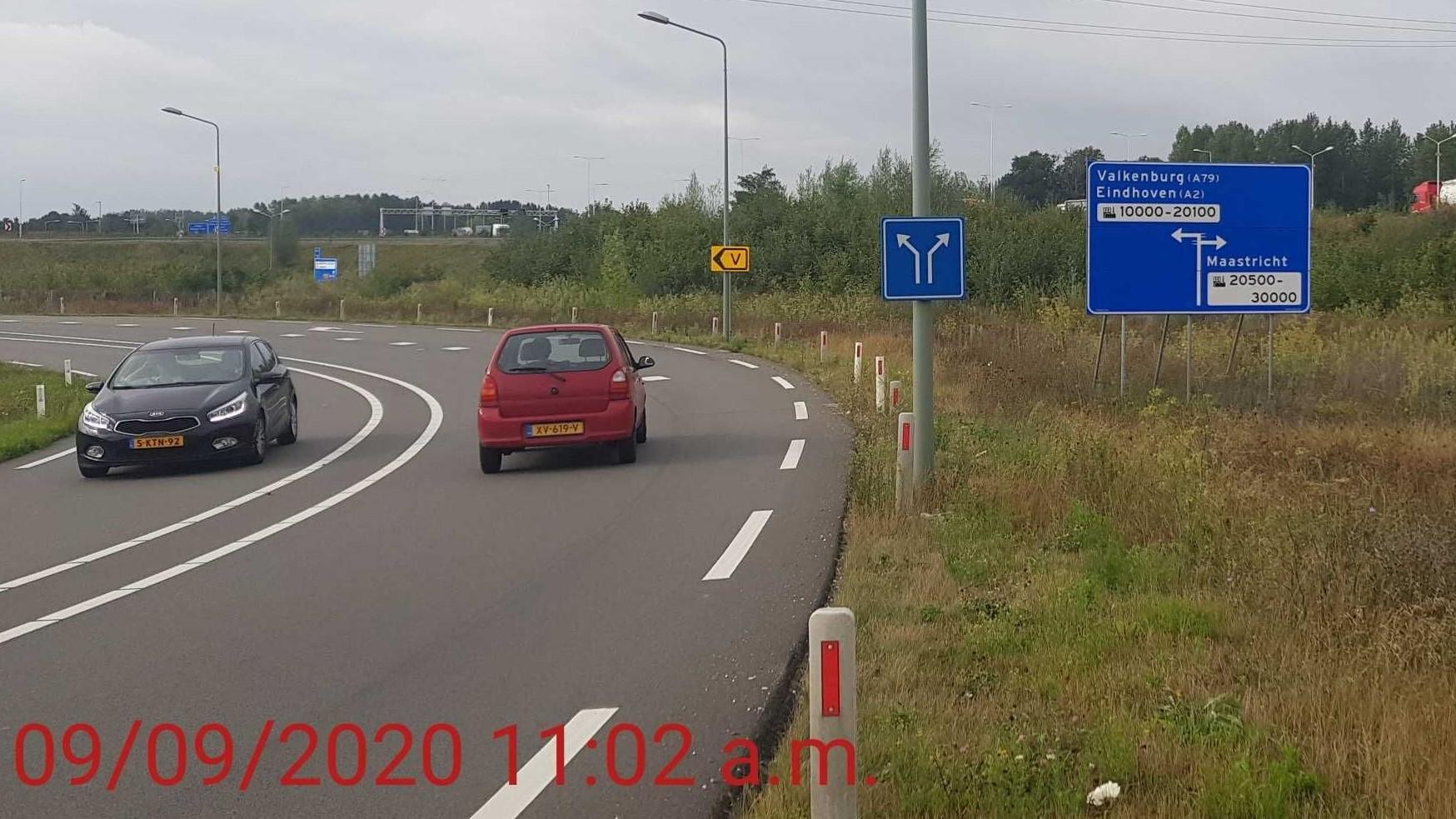 Schouwen bermbord gemeente Maastricht